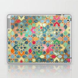 Gilt & Glory - Colorful Moroccan Mosaic Laptop & iPad Skin