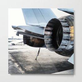 Thrust Metal Print