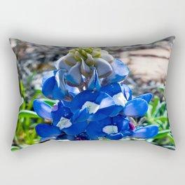 Just A Touch of Blue Rectangular Pillow