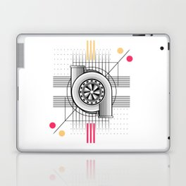 Turbo engine Laptop & iPad Skin