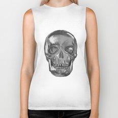 grungy skull Biker Tank