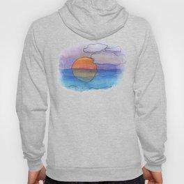 Sunset Dreaming - Watercolor Design Hoody