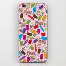 Ice Cream Doodles iPhone & iPod Skin