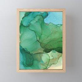 Tropical island Framed Mini Art Print
