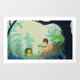 This Belong to My Mother Art Print