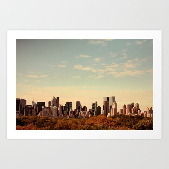 Skyline #1  Art Print