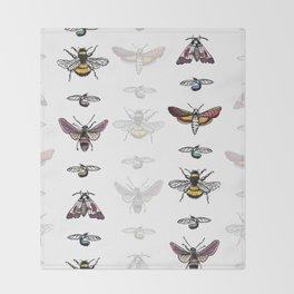Bug Stripe Throw Blanket