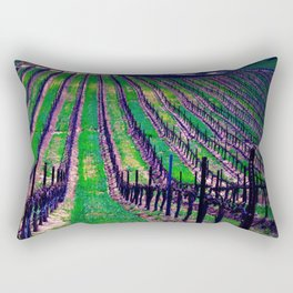 Wine is Always the Answer (no text)  Rectangular Pillow