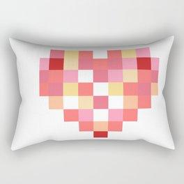Squares of Love Rectangular Pillow