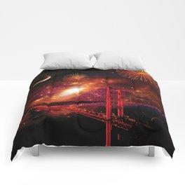 Left My Heart in San Francisco Comforters