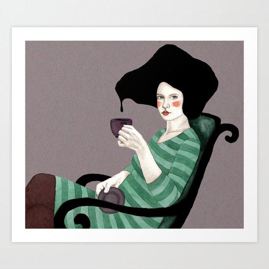 Tania Art Print