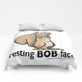 Resting Bob Face Comforters