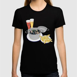 Mussels from Brussels T-shirt