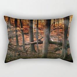 Sky Fire - surreal landscape photography Rectangular Pillow