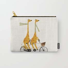 lets tandem giraffes Carry-All Pouch