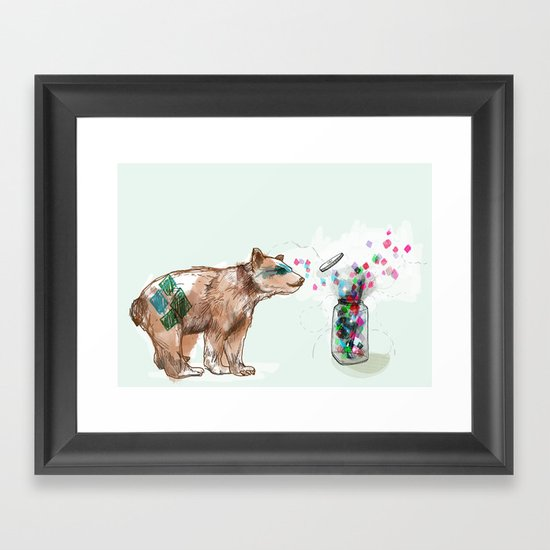 There is Magic all Around Us Framed Art Print