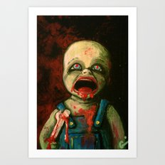 Hungry Baby Art Print