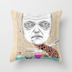My life with men... Throw Pillow