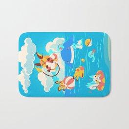 Splash Attack Bath Mat