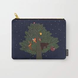 Forest Animals Friendship Day Carry-All Pouch