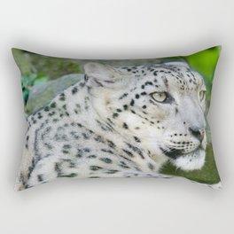 Snow Leopard Rectangular Pillow