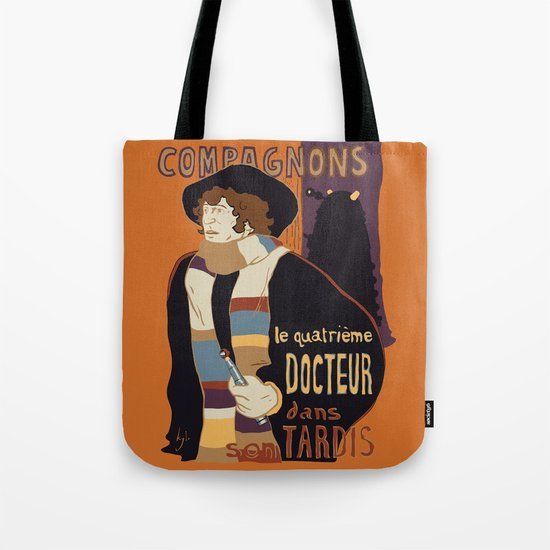 Le Fourth Doctor Tote Bag