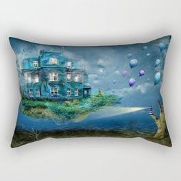 A journey with the wind Rectangular Pillow