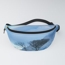 Table Mountain blanketed in cloud Fanny Pack