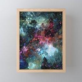 Theory of Everything Framed Mini Art Print