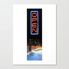 NYC: NOW OPEN! Canvas Print