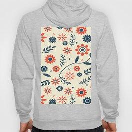 FLOWER PATTERN Abstract Art Hoody