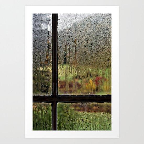 Droplet Landscape III Art Print