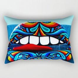 Rainbow Kiss Rectangular Pillow