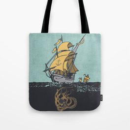 The Secrets of the Sea Tote Bag