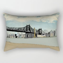 Manhattan, New York City Rectangular Pillow