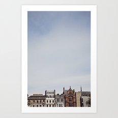 A Beautiful Day in Scotland Art Print
