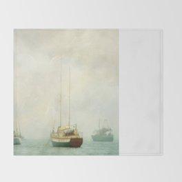 Morning Fog Throw Blanket