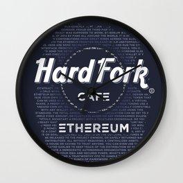 Hard Fork Cafe Ethereum Wall Clock