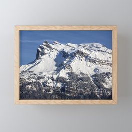 French Alps Framed Mini Art Print