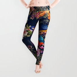 FLORAL AND BIRDS XII Leggings