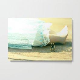 Alice's Escapades ~ Alice & The Chair II Metal Print