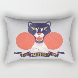 Ping Pong Panthers Rectangular Pillow