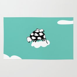 Flying Turtle by McKenna Sanderson Rug
