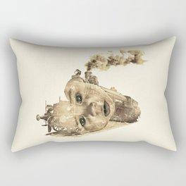 train of life Rectangular Pillow