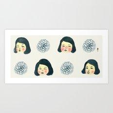 Girly : 소녀감성 Art Print