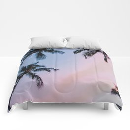 cotton candy skies Comforters