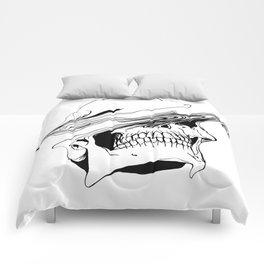 Skull (Liquify) Comforters