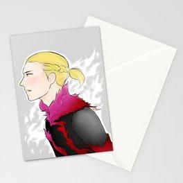 ice tiger of russia yuri!! on ice yuri plisetsky Stationery Cards