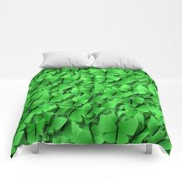 green butterflies  Comforters