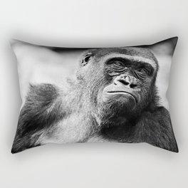 Gorilla at the Bronx Zoo Rectangular Pillow